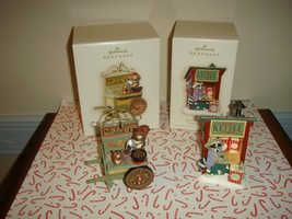 Hallmark 2007 Kringlewoods Farms Nuts About Nuts & Pop's Kettle Corn Orn... - $20.99