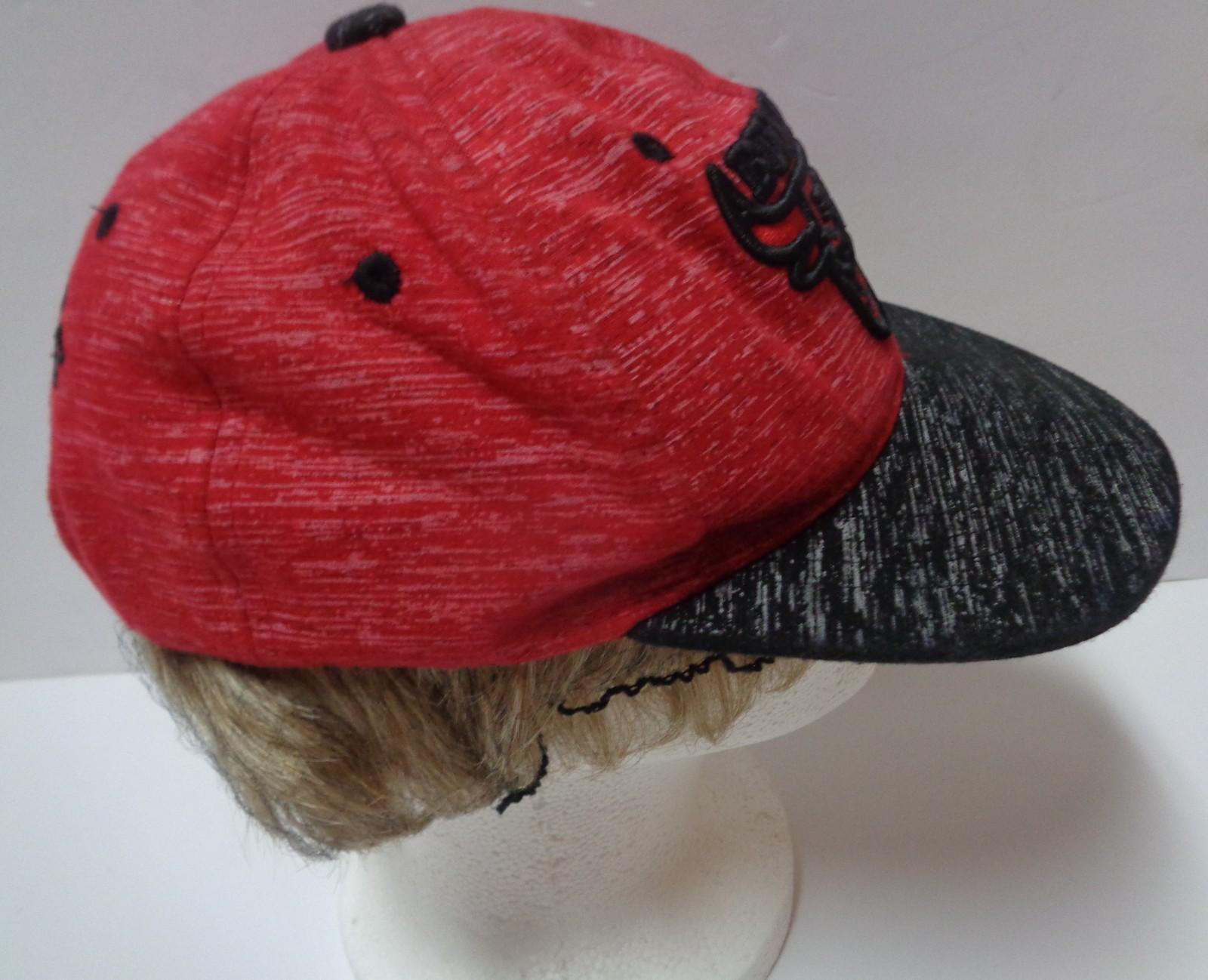 Bullies Snapback Hat NWOT Supply Headwear Free Shipping Red & Black
