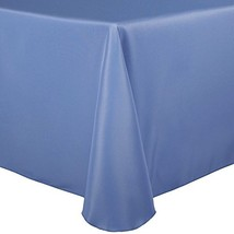 Ultimate Textile -2 Pack- 60 x 84-Inch Oval Polyester Linen Tablecloth, ... - $51.65