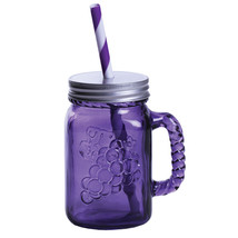 Fitz and Floyd Jolly Rancher Jolly Jar Sippee Mug in Grape (Set of 6) - $49.99