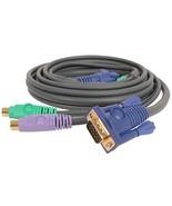 IOGEAR MiniLink KVM Cable, 6 Feet, G2L1001P - $6.69