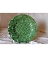 "Bordallo Pinheiro Leaf Service Green Chop Plate/Round Platter 13"" - $18.89"