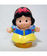 Fisher Price Little People SNOW WHITE Disney Princess 2012 Songs & Palace - $3.50