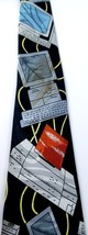 Fratello Necktie Tie Vintage Computer Byte Mouse Black CPU Tower image 2