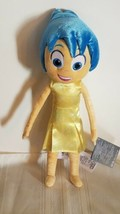 "NEW Genuine Disney Store Exclusive Inside Out 14"" JOY Plush Doll - $19.99"