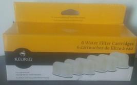 Keurig Water Filter Refill Cartridges Pack of 6 New - $8.86