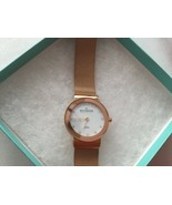 SKAGEN Denmark Ladies Quartz Rose Gold Watch Mesh Needs Battery - $51.12