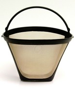 NEW Universal Gold Tone Permanent #4 Cone Coffee Filter Fits Cuisinart B... - $6.91