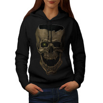 Skull Head Scream Sweatshirt Hoody Scary Grin Women Hoodie - $21.99+