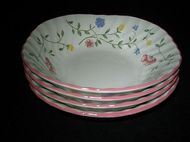 Johnson Brothers Summer Chintz 4 Square Cereal Bowl More AVL Excellent LOOK - $24.99
