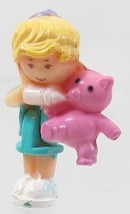 1994 Vintage Polly Pocket Doll Baby Bear Pendan... - $7.50