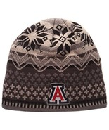 NCAA Arizona Wildcats Men's Oslo Knit Beanie, One Size, Black/Gray - $12.95