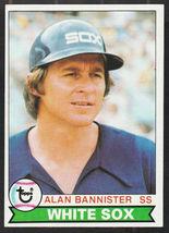 Chicago White Sox Alan Bannister 1979 Topps Baseball Card 134 ex/em - $0.50