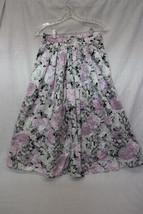 Retro SCOTT MCCLINTOCK Sportswear 100%Cotton MultiColor Floral Skirt Wom... - $29.99