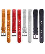 14mm Watch Band Colorful Genuine Leather Strap Replacement for Fitbit Alta - $14.20