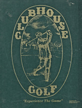 """Clubhouse Golf """"Experience the Game"""" Penelect Game Company 1991 (NIB) - $59.95"""