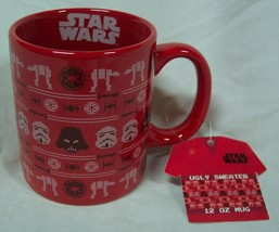STAR WARS DARTH VADER STORM TROOPER ATAT WALKER CHRISTMAS CERAMIC MUG NEW - $16.34