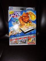 Crayola Color Alive 2.0 Interactive Coloring Skylanders Coloring Book Interact - $23.14