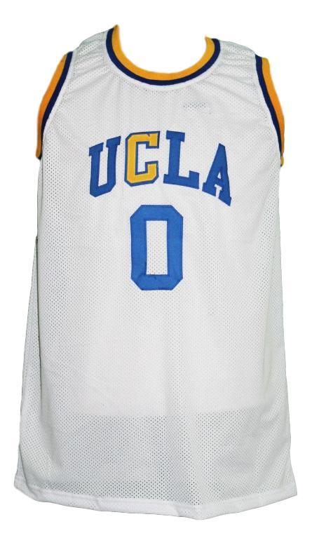Russel westbrook  0 custom college ucla basketball jersey white   1