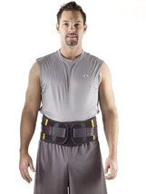 "Corflex Disc Unloader LSO Back Brace - Back Pain Brace-M-10"" Anterior Panel - Bl - $259.99"