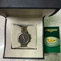 LONGINES Conquest 4009 Titanium & GP Chronograph Men's Watch - $1,062.26