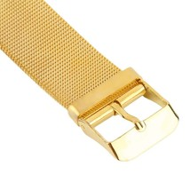 Wristwatch Gold Adjustable Band Wrist Watch Quartz Casual AE6