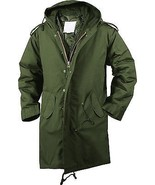 Olive Drab Military Cold Weather M-51 Fishtail Parka Jacket - $74.99+