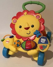 Fisher Price Lion Walker First Step Learning Activity Toy Mirror Piano M... - $19.99