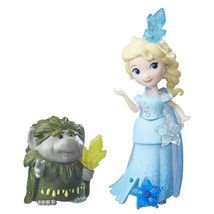 "Disney Frozen Little Kingdom Miniature 3"" Elsa with Grand Pabbie - €14,77 EUR"