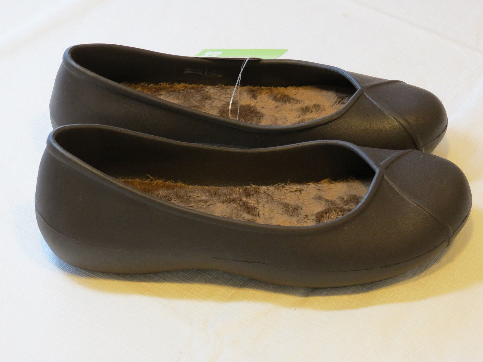 0b700b1ce02ca S l1600. S l1600. Crocs Womens Olivia II Lined Flat Espresso relaxed fit W  7 W7 shoes Dual Comfort ...