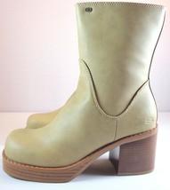 Womens Skechers Something Else Mid-Calf Boots Size 8.5 Dark Beige - £30.40 GBP