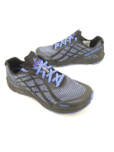 Merrell Womens Blue Bare Access Flex Shield Running Shoes Sneakers J7761... - $74.24