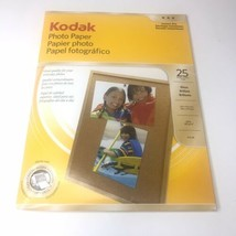 Kodak Photo Paper ~ Gloss Instant Dry 8.5 x 11  25 Sheets New Open Package - $14.08