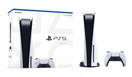 Newest Sony PlayStation 5 Console Disc Version PS5 - Ready to Ship image 1
