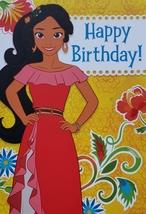 "Disney Princess Elena Avalor  Greeting Card Birthday ""Happy Birthday!""  - $3.89"