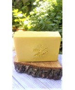 honeysuckle vanilla soap, soap, glycerin soap, floral soap, bath and body - $5.25