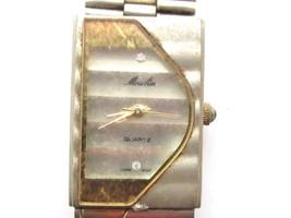 Elegant Vintage Multi Tone Silver And Gold Moulin Women'S Wristwatch*Jew... - $11.88
