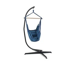 C Hammock Stand Frame Solid Steel Construction For Hanging Air Porch Swi... - $250.00