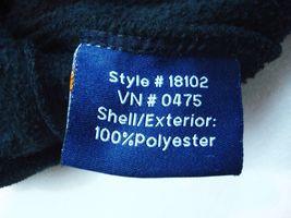 Mcafee Virus Reißverschluss Fleece Jacket Landmark Schwarz Größe L Herren T71 image 9