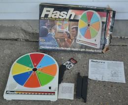 Vintage Flash The Electronic Arcade Game Bean Bag Wall Game - $56.09