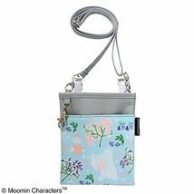 *Friends Blue Moomin 2WAY soft pen pouch Moomin valley - $26.86