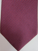 NEW Brooks Brothers Brooks Basics Red, Blue and Gold Geometric Silk Tie - $37.49