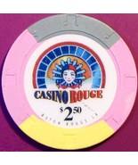 $2.50 Casino Chip. Casino Rouge, Baton Rouge, LA. V23. - $4.99