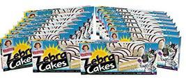 Little Debbie Zebra Cakes, 16 Boxes, 80 Twin-Wrapped Yellow Cakes - $46.40