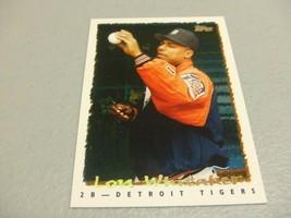 1995 Topps Cyberstats #13 Lou Whitaker -Detroit Tigers- - $3.12