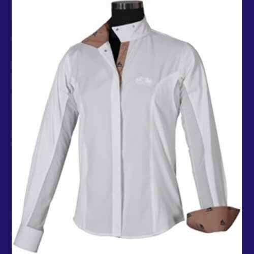 Equine couture boats shirt putty