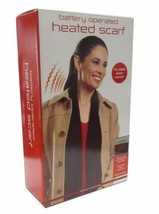 "Heated Woman's Scarf - 62"" Long Battery Operated  (3 AA Batteries Not I... - $38.16 CAD"