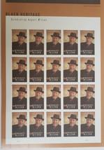 August Wilson - 2021 (USPS) 20 Forever Stamp Sheet - $15.95