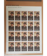 August Wilson - 2021 (USPS) 20 Forever Stamp Sheet - $15.95