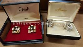 LOT vintage TIVOLI and ANSON CUFFLINK SETS  - $24.95